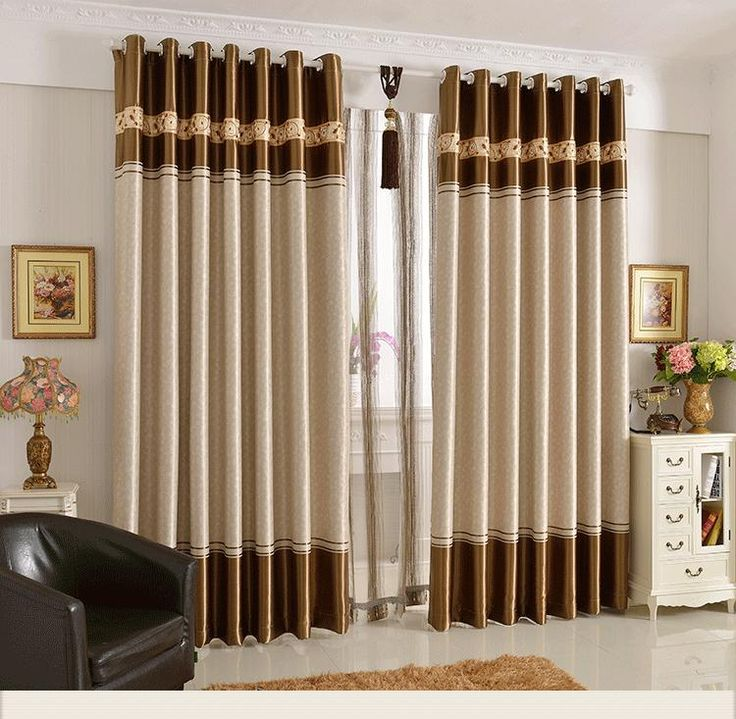 4 curtains designs to make your room salient