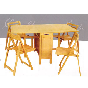 5-pcs folding table and chairs 901_(lnfs110) dwjxpzd