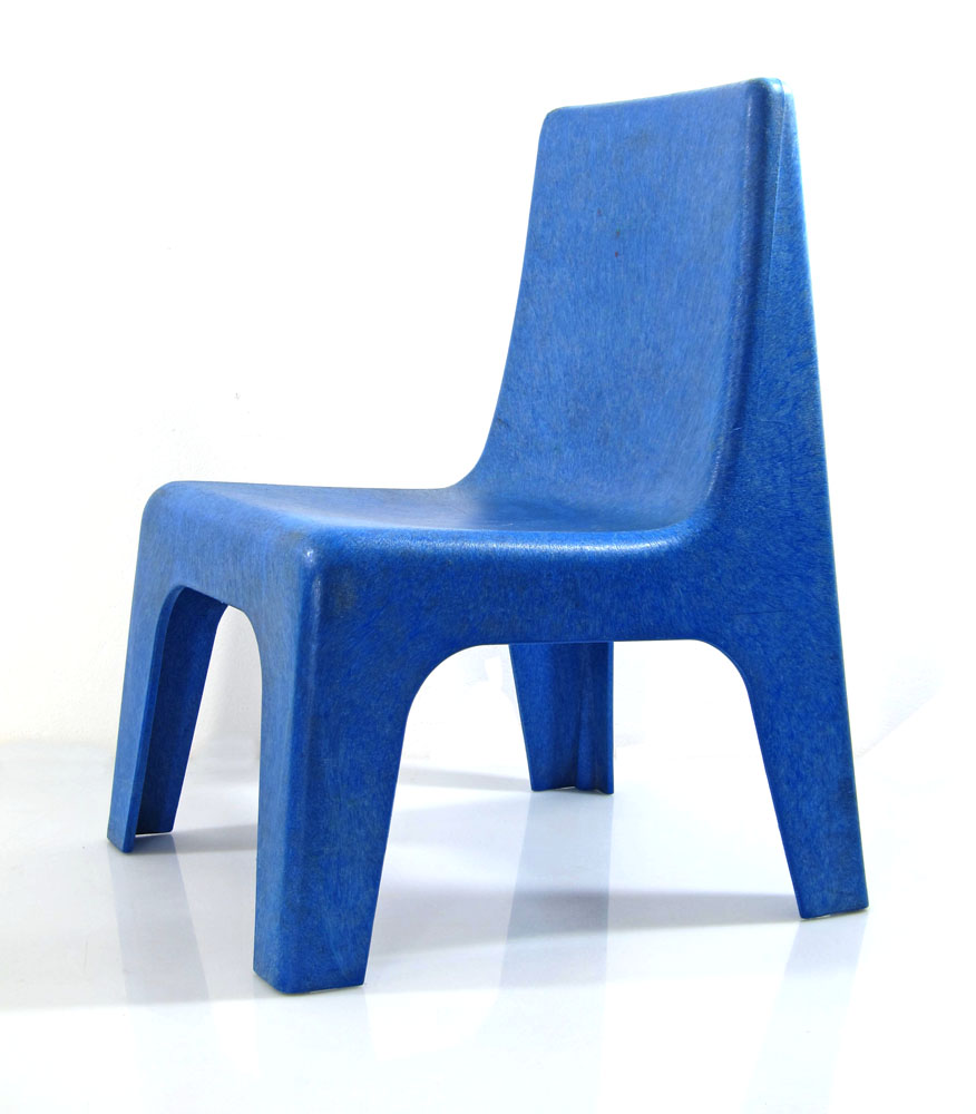 9 blue seventies childrens chairs itbsndg