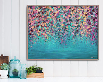 abstract painting large wall art acrylic painting abstract canvas art  original abstract aogwsir