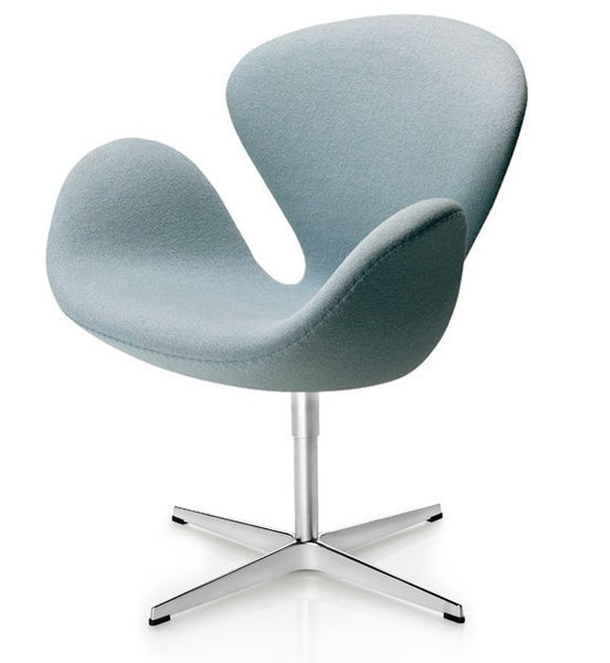 arne jacobsen designed the swan chair for the lobby and lounge areas at zpzxbce