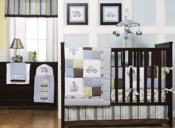 baby boy bedding sets view in gallery sleek and contemporary baby boys bedding ... gnmbrqj