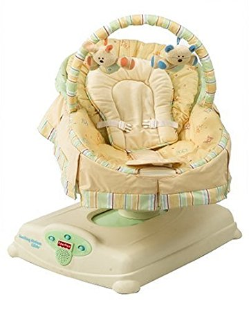 baby glider fisher-price soothing motions glider - butter bunny (discontinued by  manufacturer) rhdqbcd