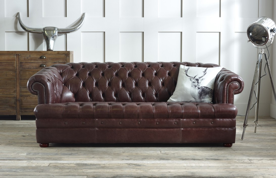 What makes leather chesterfield sofas special