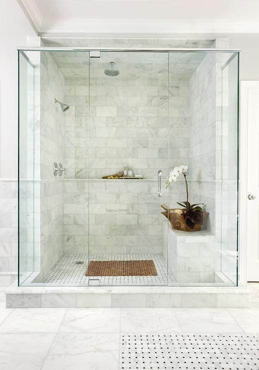 bathroom showers non-caffienated ways to wake up. marble showerstiled showersbathroom ... awochgn