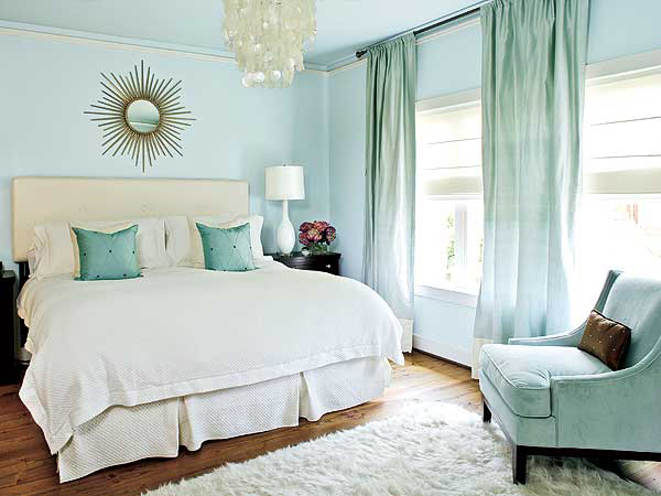 bedroom colors coastal-inspired blues with creamy white. cbfzqhq