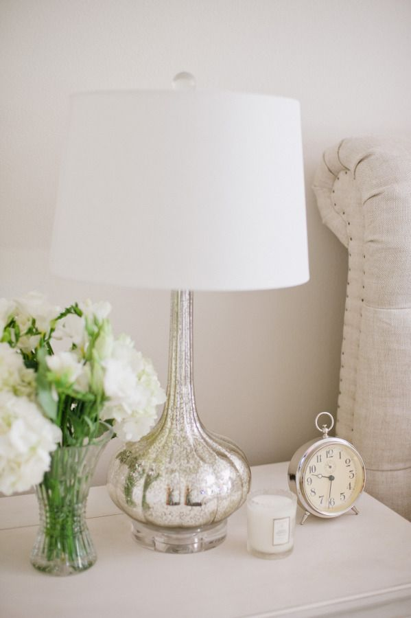 bedroom lamps silver lamp: http://www.stylemepretty.com/vault/search jfpjmgr