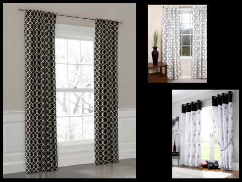 black and white curtains design ideas, pictures laxinvc