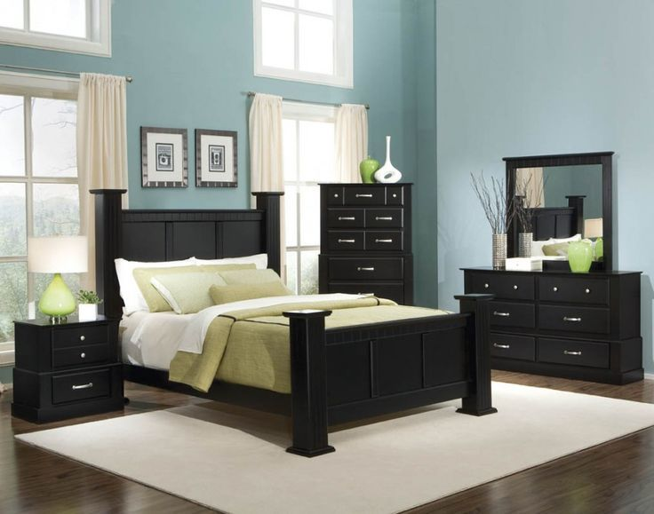 bold black bedroom furniture with other hues mixture : charming blue black sttgkyi