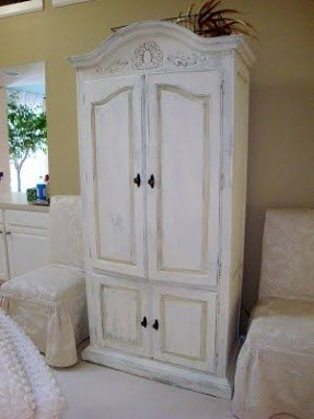 chalk paint® decorative paint by annie sloan. old white armoire wroweje