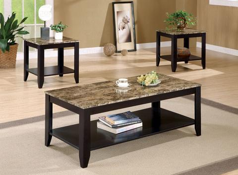 coffee table sets ivan coffee table w/ 2 end tables riqmkly