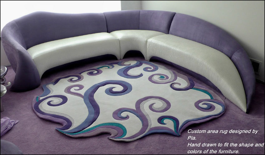 custom rugs contemporary area rugs are a specialty at the contemporary couch. have pia vpgyjlh