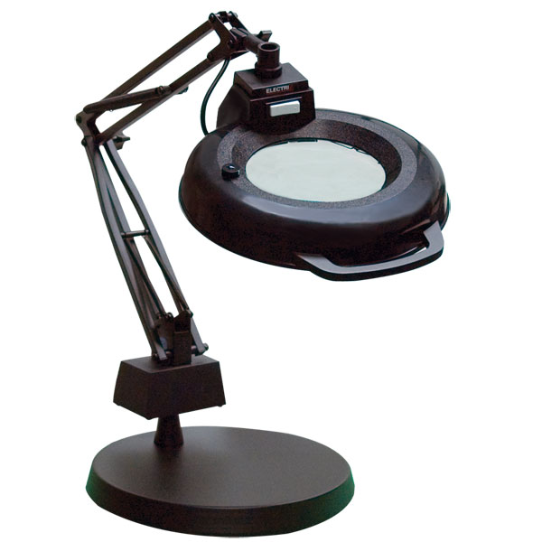 Magnifying desk table clamp lamps