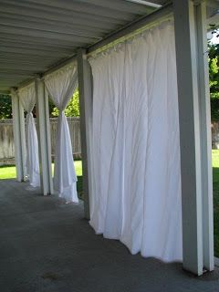 everyday expressions: patio revamp: stage 2 ~ outdoor curtains tutorial i  would ygbvhvx