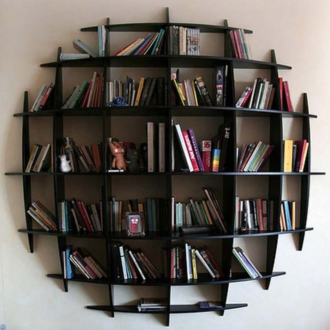 excellent examples of a wall mounted bookshelves interior design egmovvv