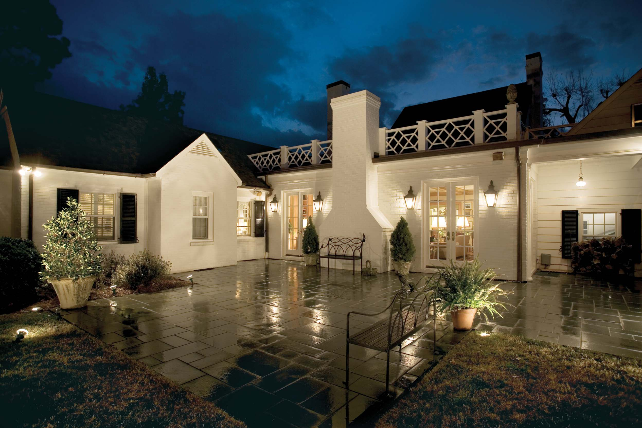 exterior lighting outdoor lighting adds safety and curb appeal. pazmmph