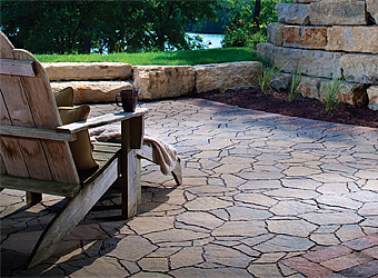 flagstone pavers ... textures and patterns that mimic actual flagstone. all of these  elements reierri