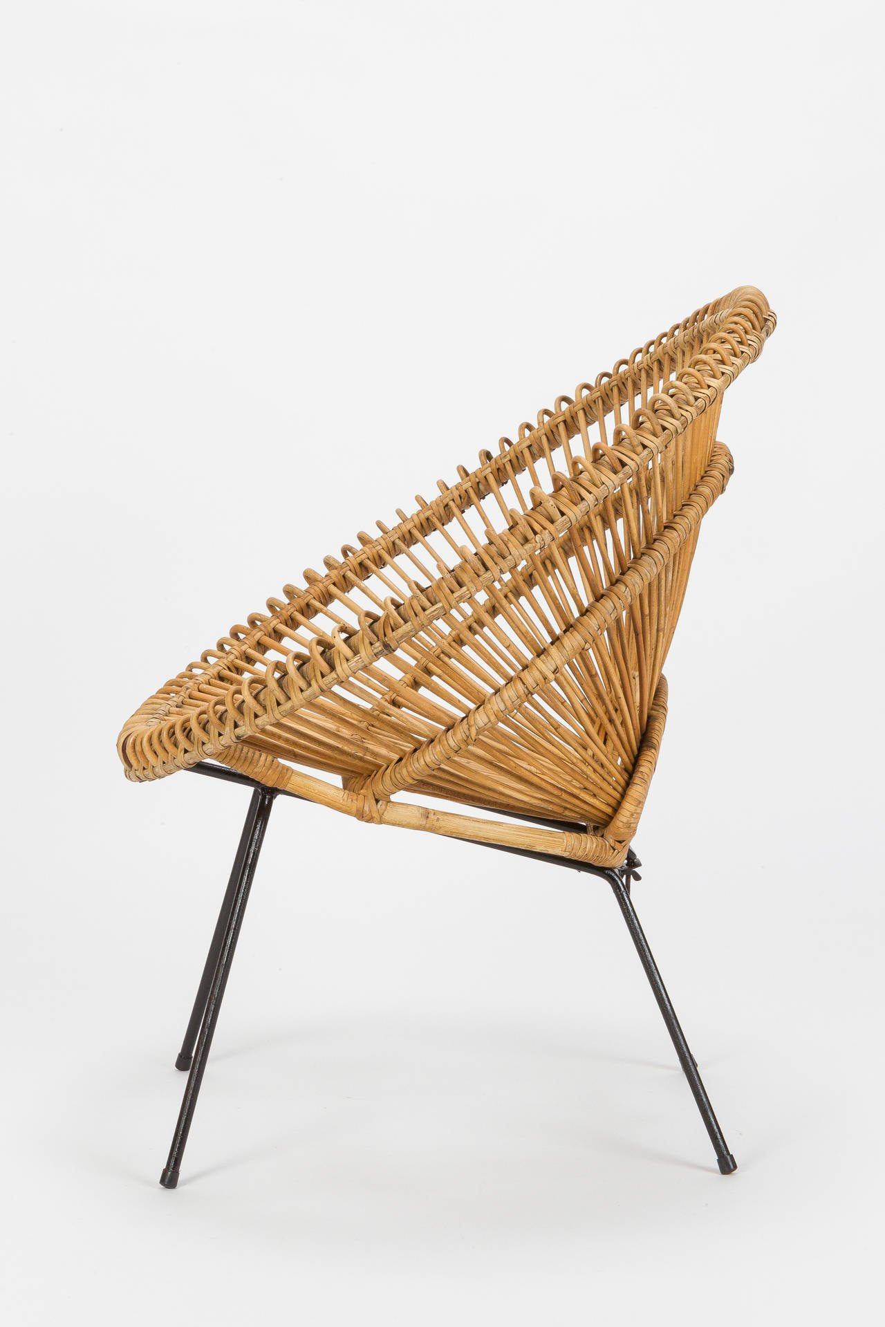 french wicker chair attributed to janine abraham u0026 dirk jan rol, ... wpbrlqb