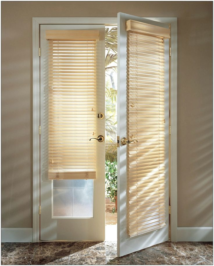 Improve your house with door blinds