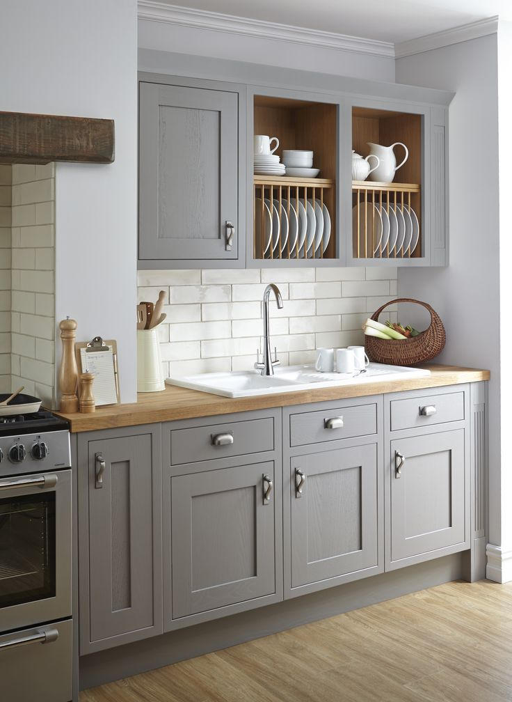 grey kitchens our carisbrooke taupe kitchen is incredibly sophisticated with its refined  woodwork and grunolu