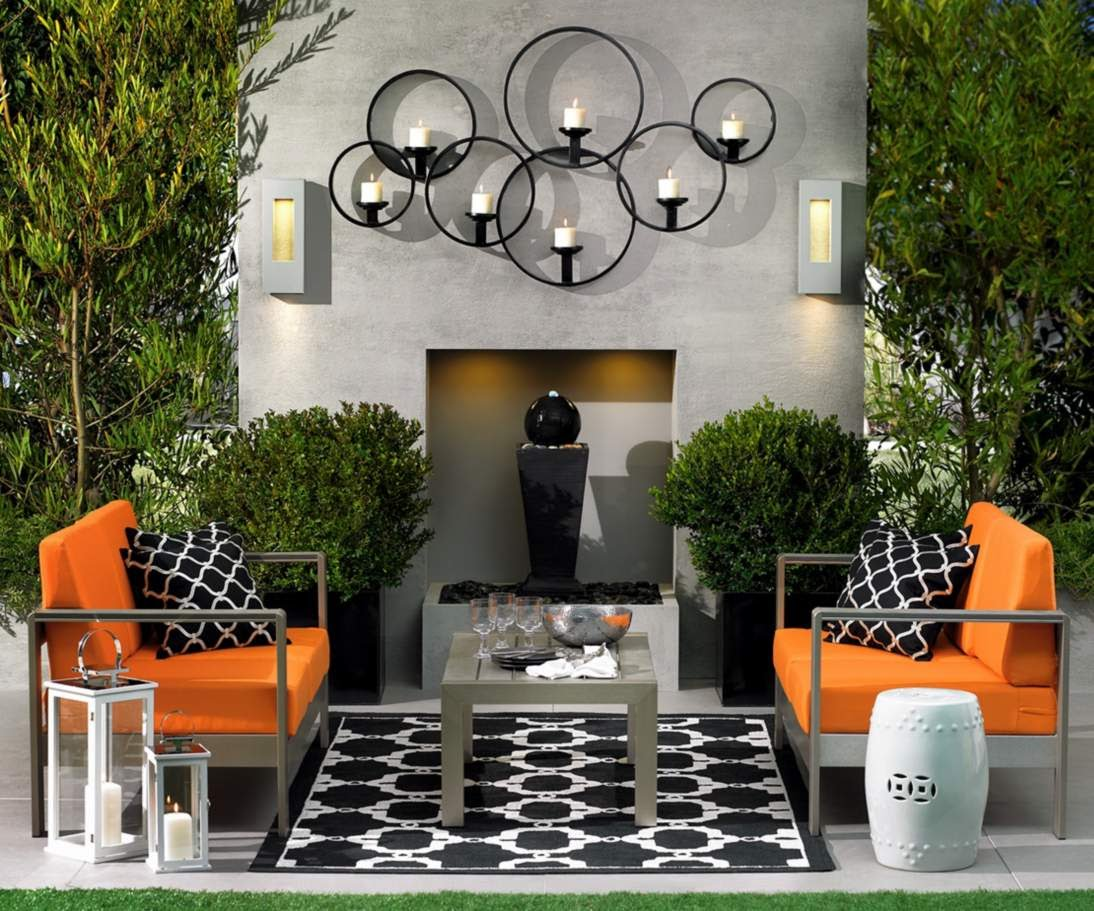 image of: candle outdoor wall decor diy mehiphi