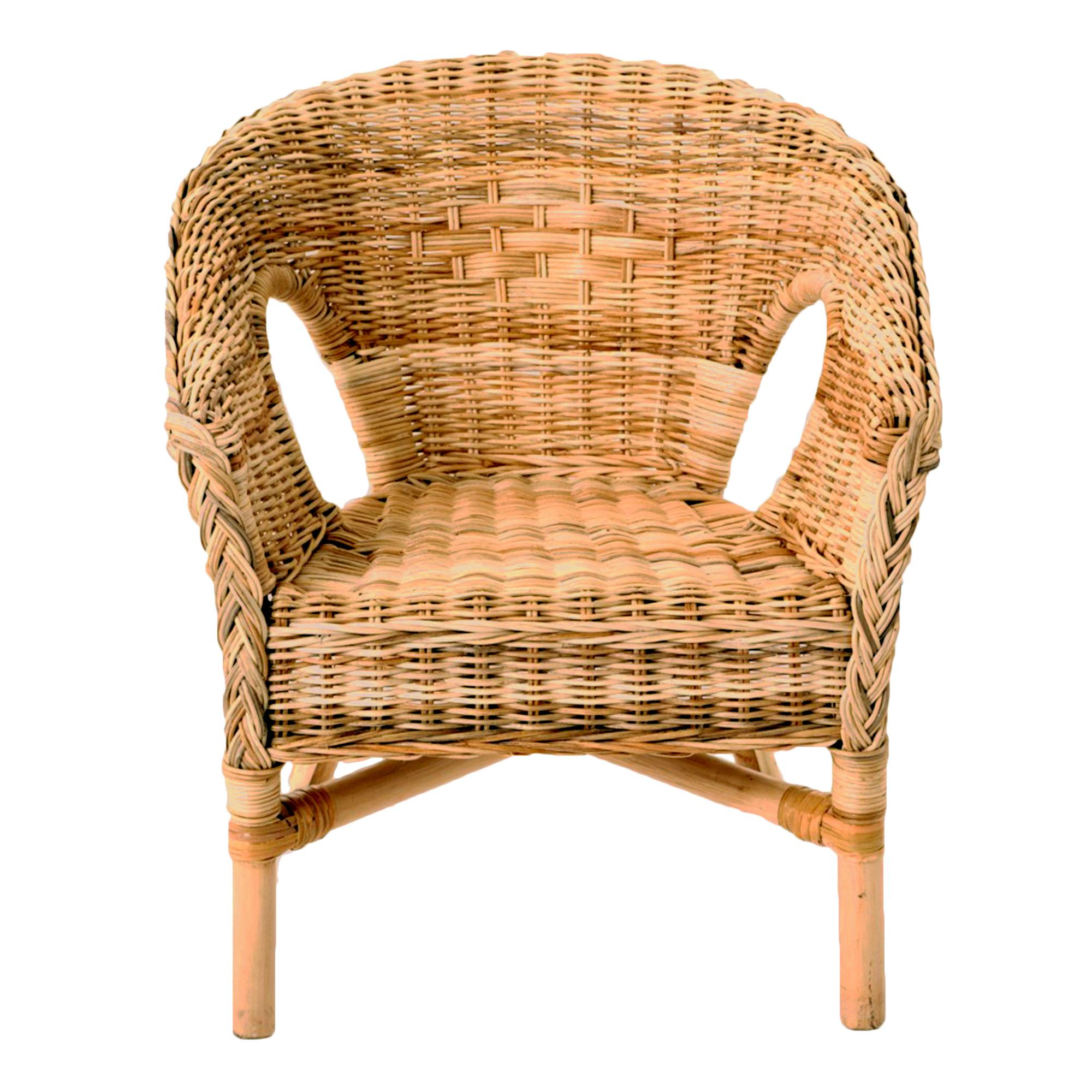 java wicker chair nczppkg