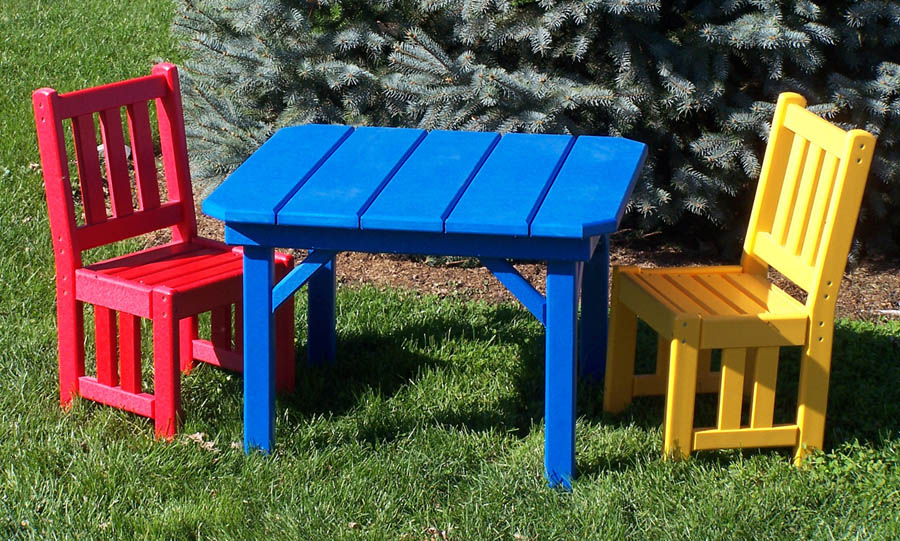 kids outdoor furniture pictures of poly outdoor furniture childrens mission table set kids outdoor  furniture ytwbrpy