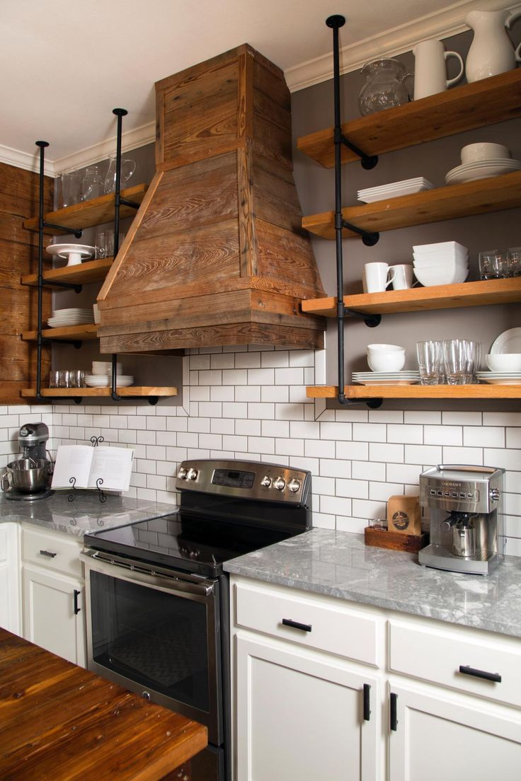 kitchen shelving fixer upper: a craftsman remodel for coffeehouse owners usrsrgw