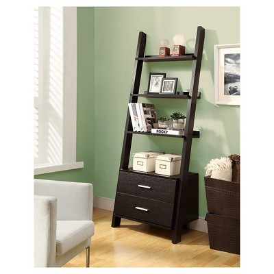 ladder bookcase with drawers - everyroom aeudjwd