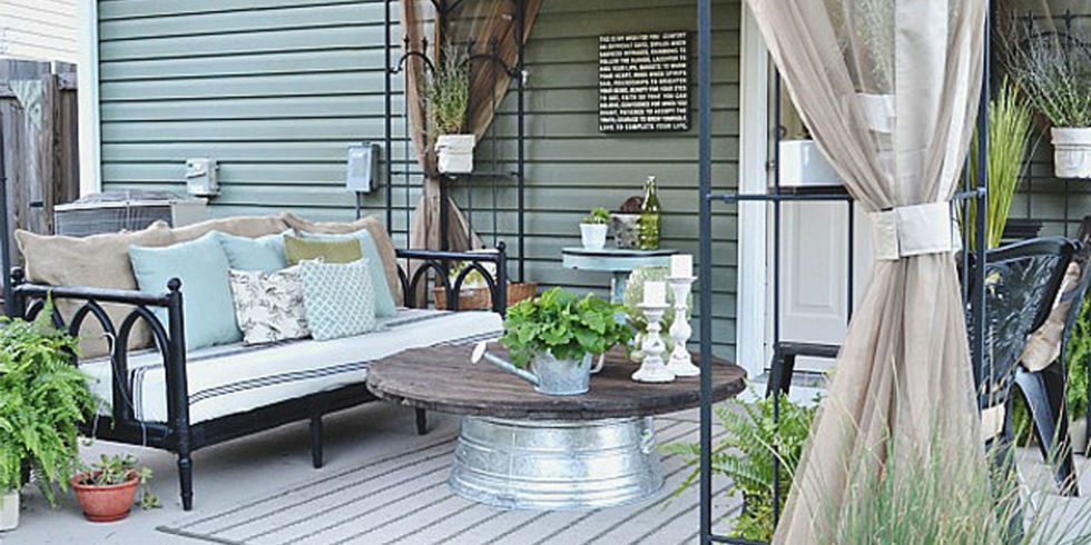 liz marie blog patio before and after - patio decorating ideas yzffaum