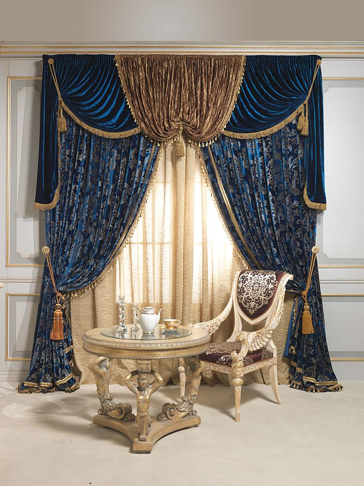luxury curtains luxurious curtains: blue intensity jchkdeq