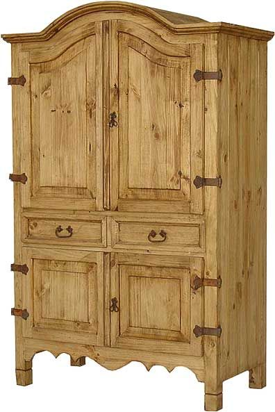 mexican armoire, pine cabinet, solid pine furniture, mexican style furniture,  mexican home ejurfwp