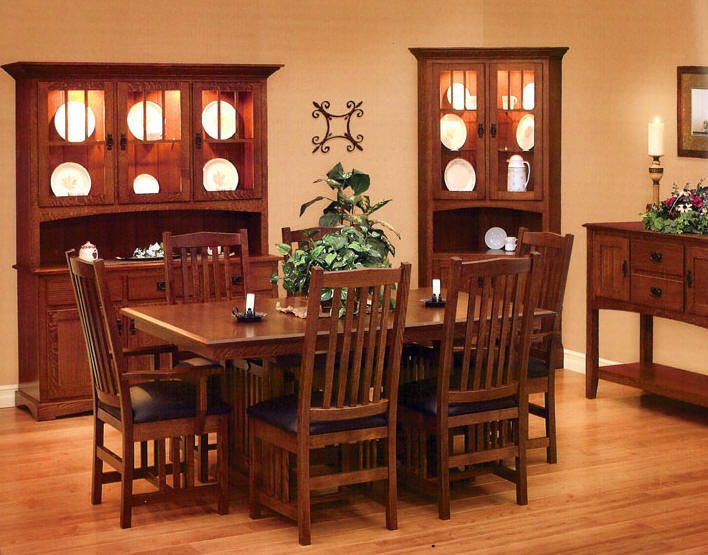 mission style furniture mission style dining room furniture - home design ideas rpvsjyz