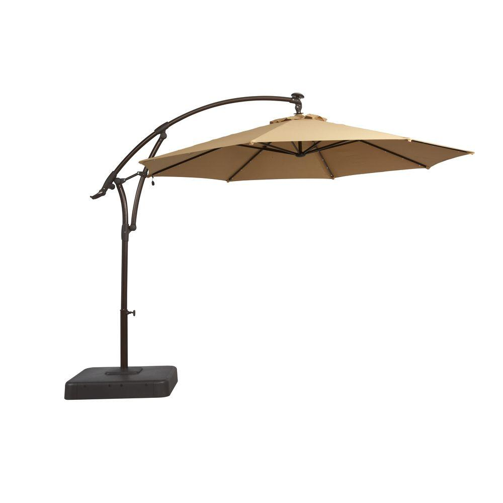 offset patio umbrella does this come with the stand. loscgkn