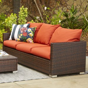 outdoor couch ellie outdoor sofa with cushions crgrotb