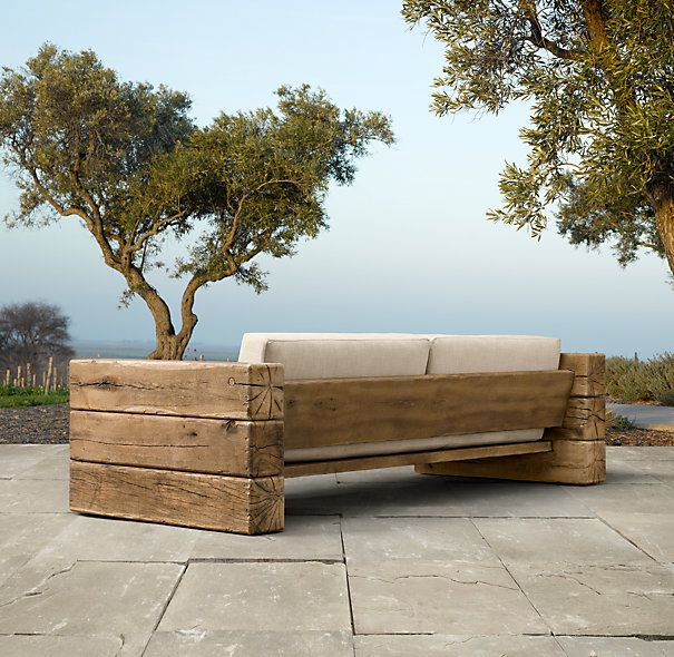 outdoor couch (this can be made diy) 90 aspen sofa fiscxsa