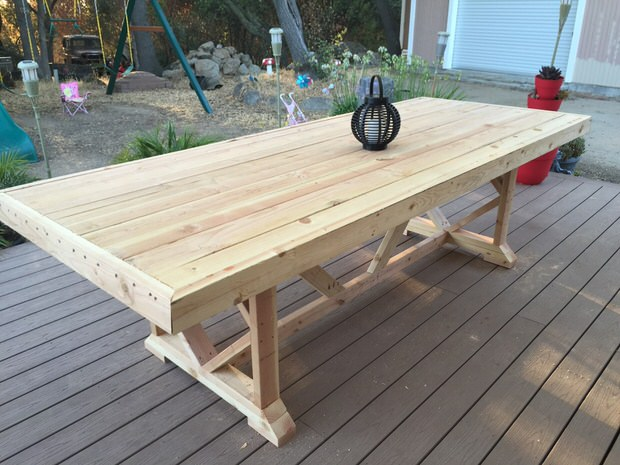 outdoor dining table diy outdoor dining tables-1 tgmdrxx