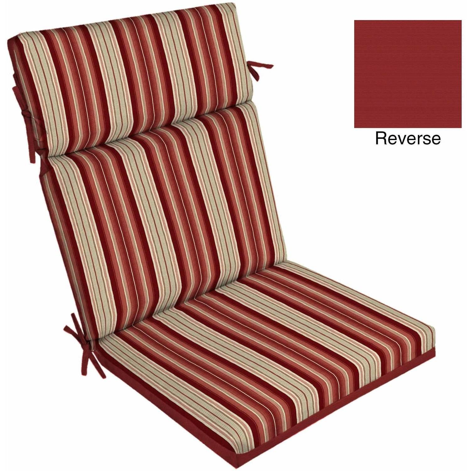 outdoor furniture cushions better homes and gardens outdoor patio reversible dining chair cushion hjxocyv