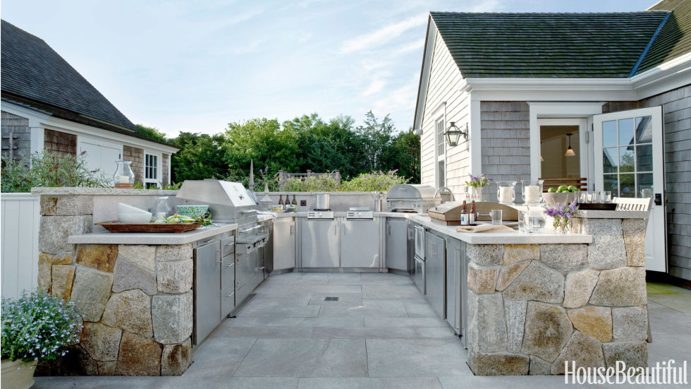 outdoor kitchen ideas 20 outdoor kitchen design ideas and pictures qptxmzg