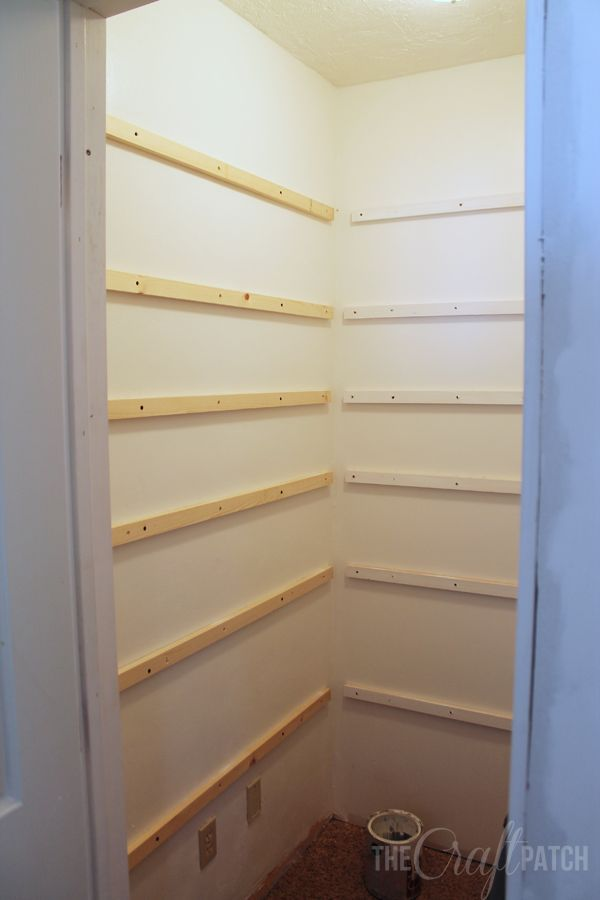 pantry shelving how to build pantry shelves eorlvyt