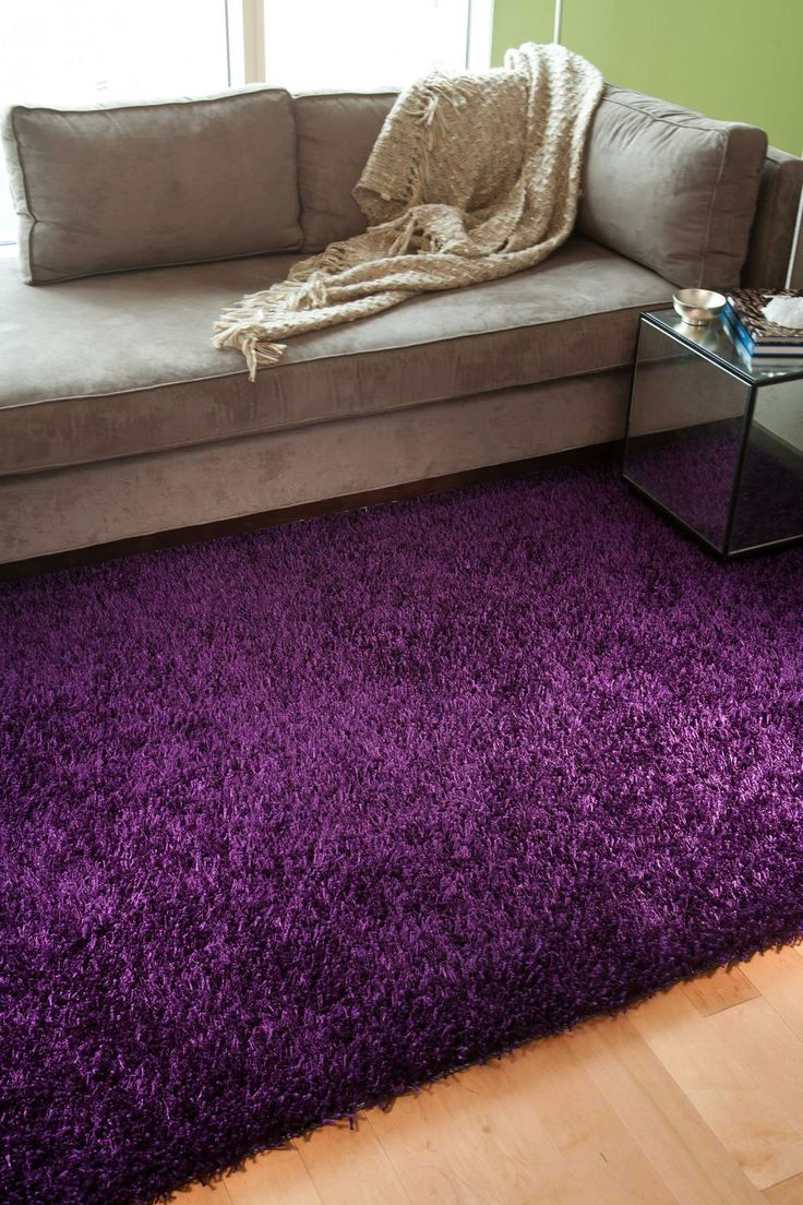 purple rugs hand-woven shags solid pattern pink/ purple rug x sbcknum