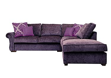 purple sofa luxor fabric corner sofa qxuynmg