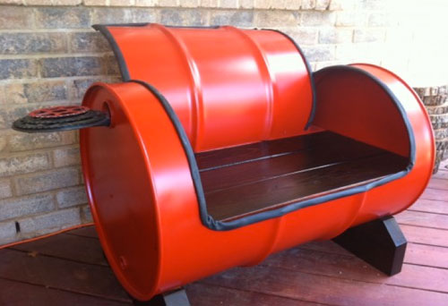 recycled furniture idea with red keg zwfkwjt