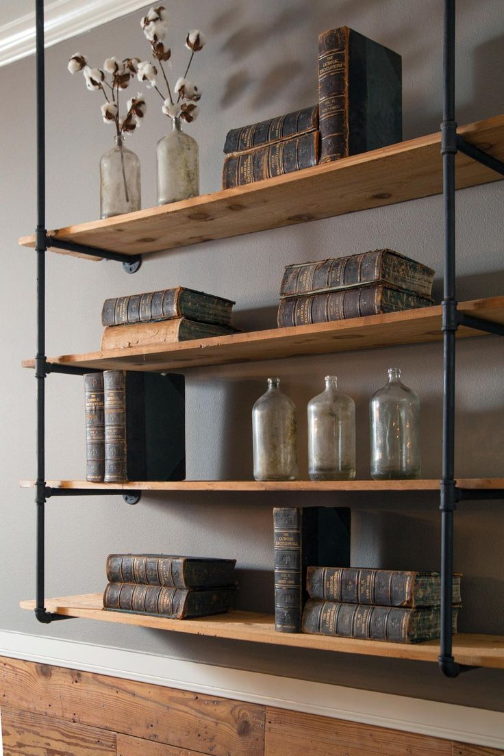 shelving ideas fixer upper: a craftsman remodel for coffeehouse owners. rustic shelvingindustrial  shelvingshelving ideasshelving aeujgdt