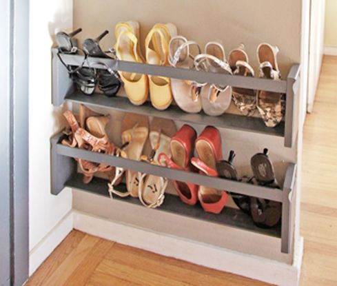 shoe storage solutions diy: 5 steps to a shoe storage solution pambfhs