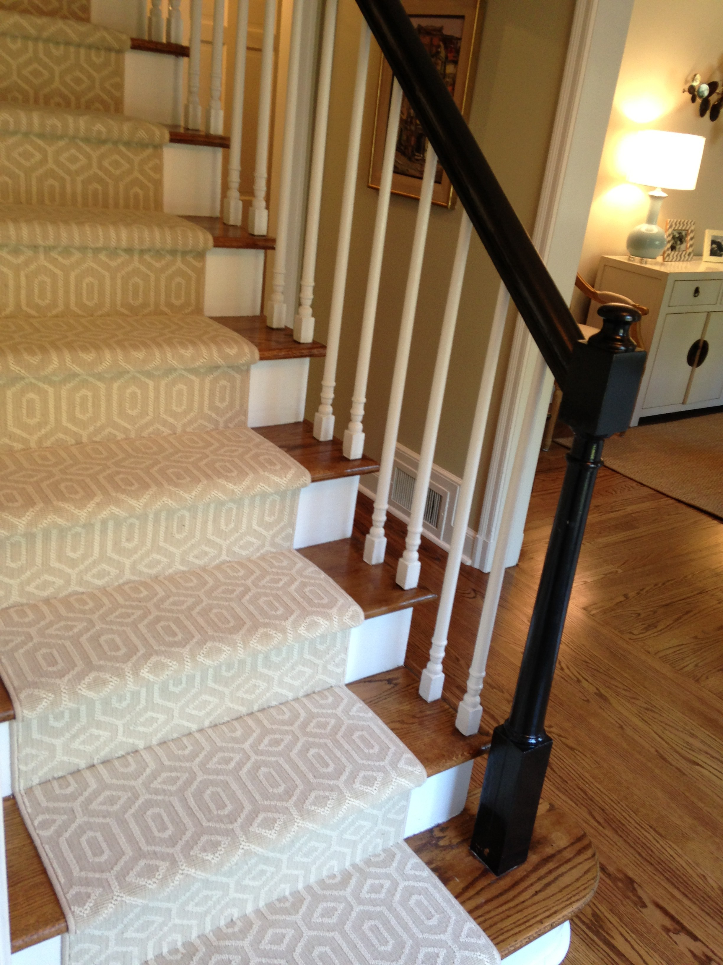 stair carpet runner choosing a stair runner: some inspiration and lessons learned qnhqhfd