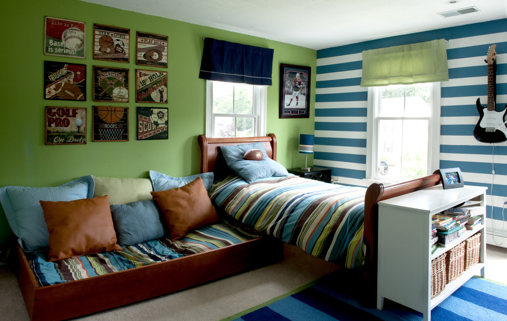 teenage bedroom a trundle bed is a great solution when space is at a premium. tttqafn