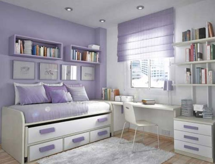 teenage bedroom adorable teen bedroom design idea for girl with soft purple-white wall  paint rbjgyyj