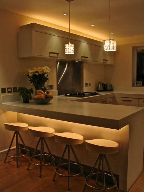 under counter lighting contemporary kitchen with under-counter and above-cabinet lighting. gmnxuzx
