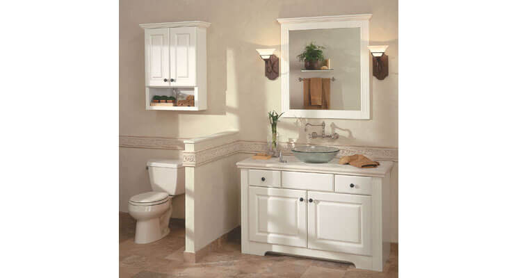 vanity cabinets ... vanities by mid continent cabinetry hampton | antique white, ... cssnghv